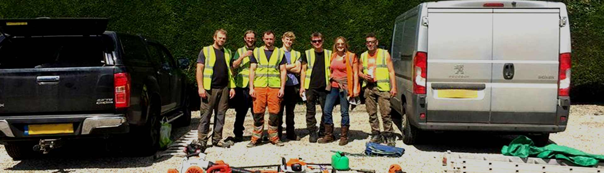 The Harrogate Garden & Trees Team