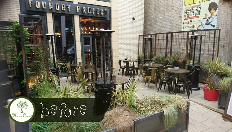 Foundry Project Bar & Restaurant Planters Harrogate